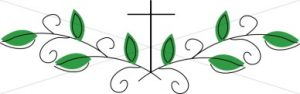 decorative cross divider