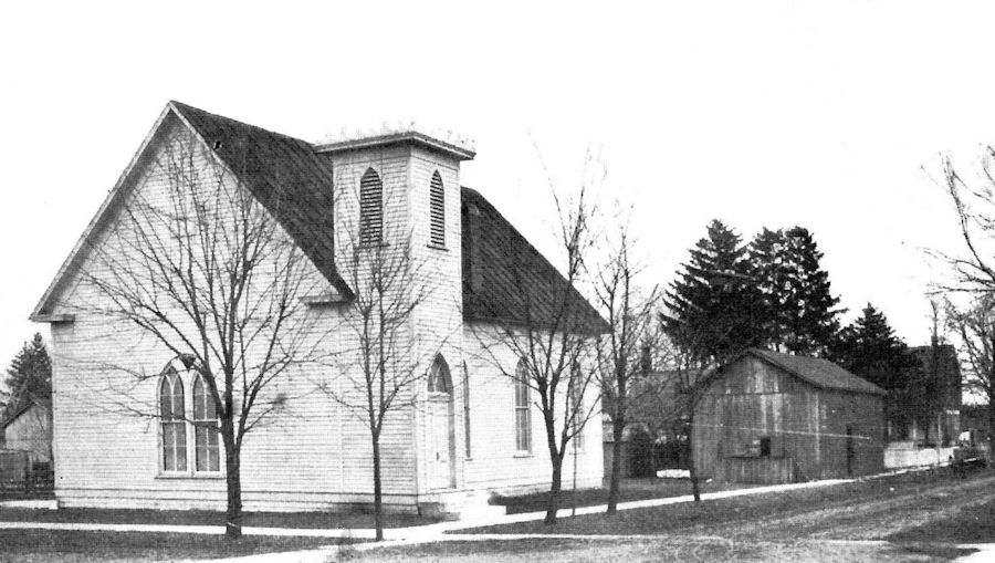 Old photo of the Church